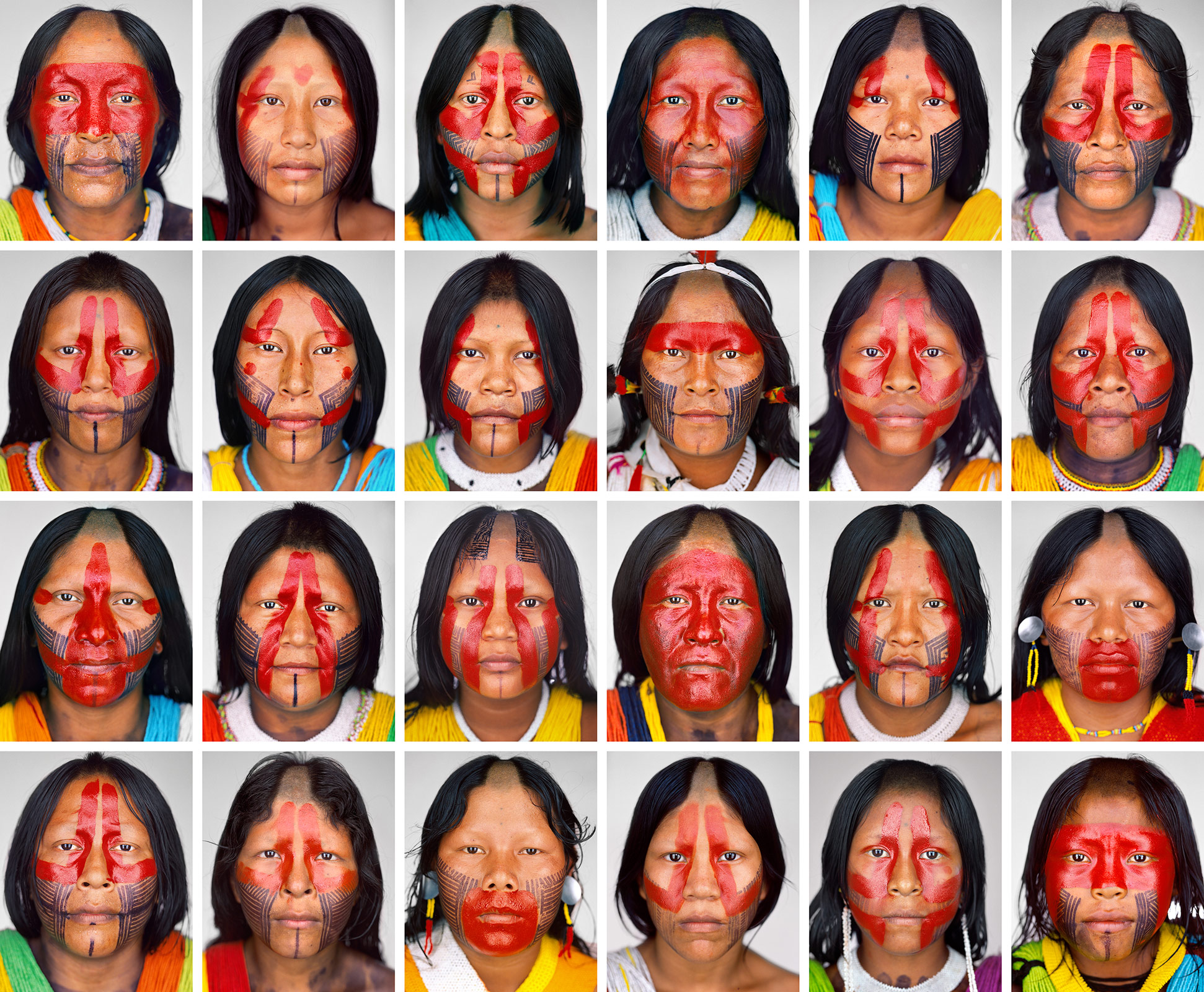 Kayapo_Women_Grid2_F