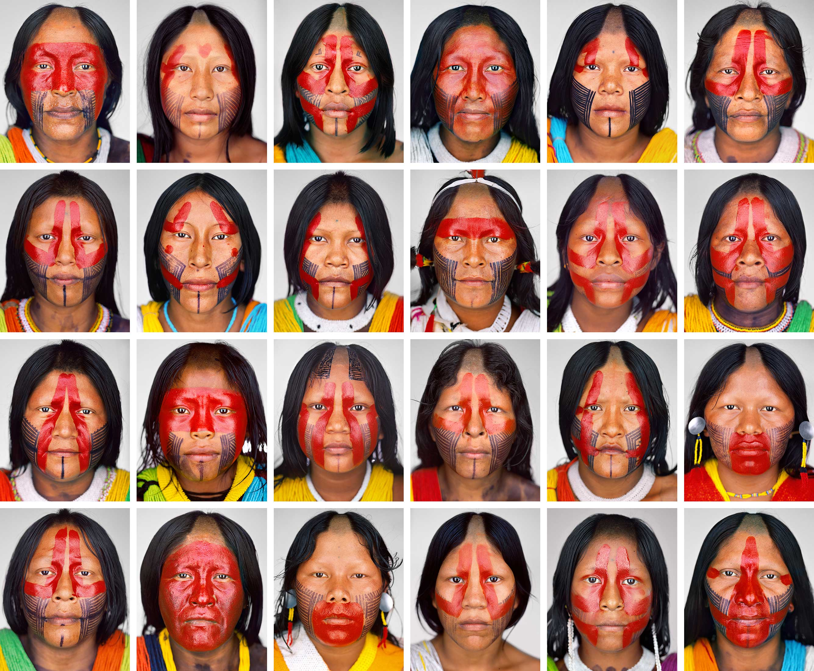 Kayapo_Women_Grid3_F